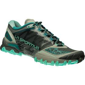 La Sportiva Bushido Running Shoes Women Grey/Mint